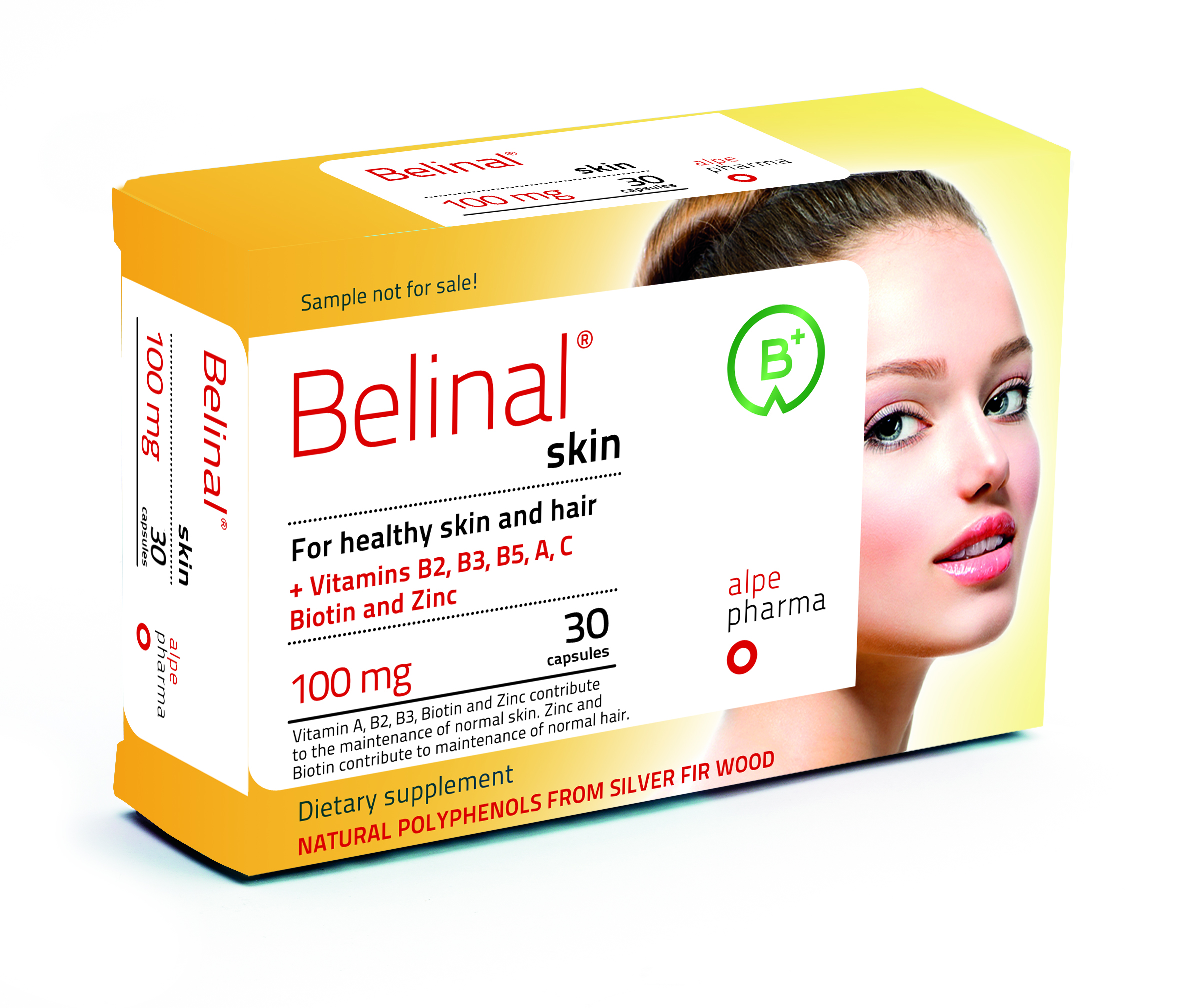 belinal skin - silver fir - for healthy skin and hair - skin rejuvenation - reduction of wrinkles - skin immune system - anti aging - to maintain skin moisture - regeneration of collagen and elastin - skin - allergies - sunning - UV rays