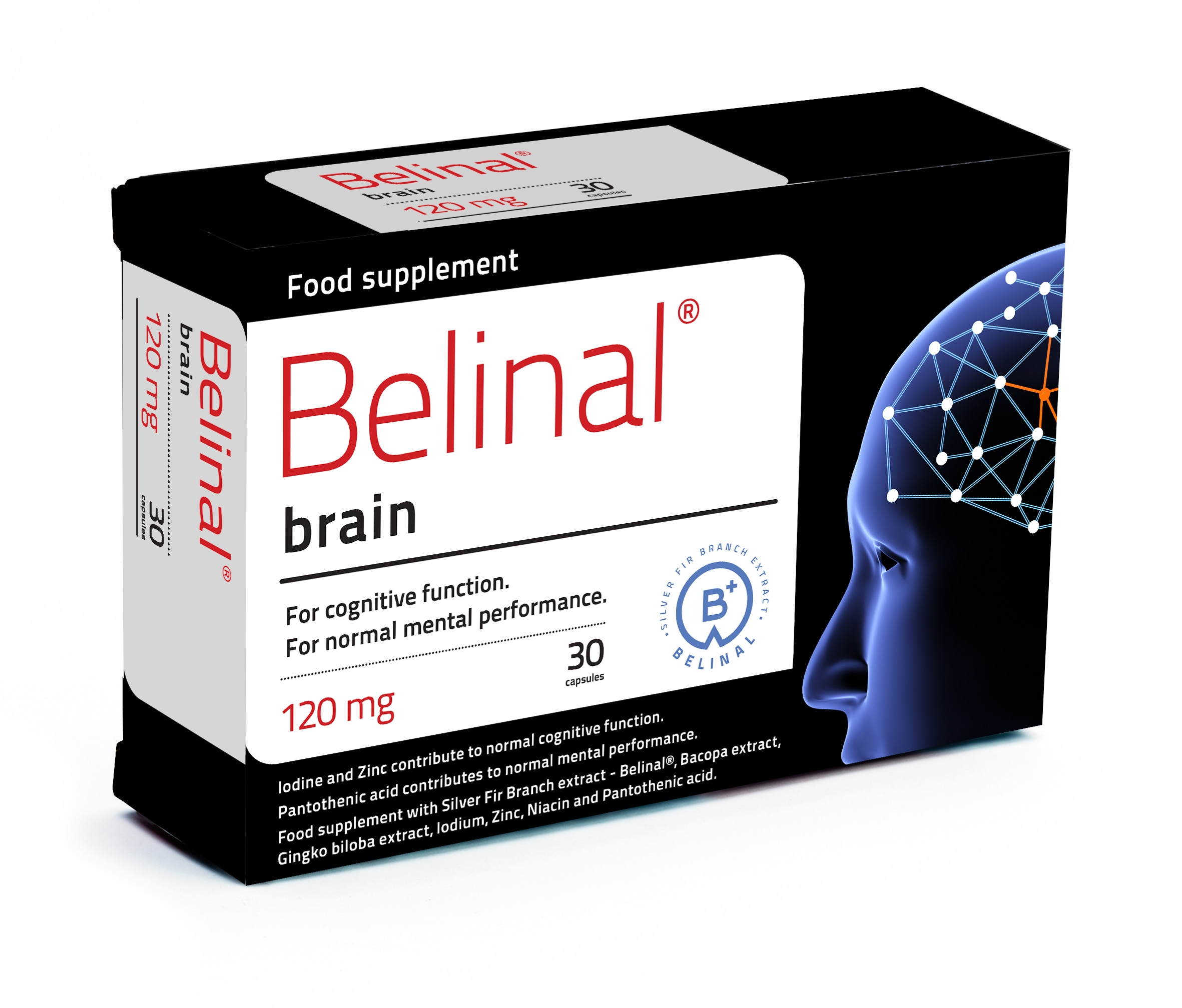 belinal brain - silver fir - increased concentration - focus - mental capacity - improved cognitive function