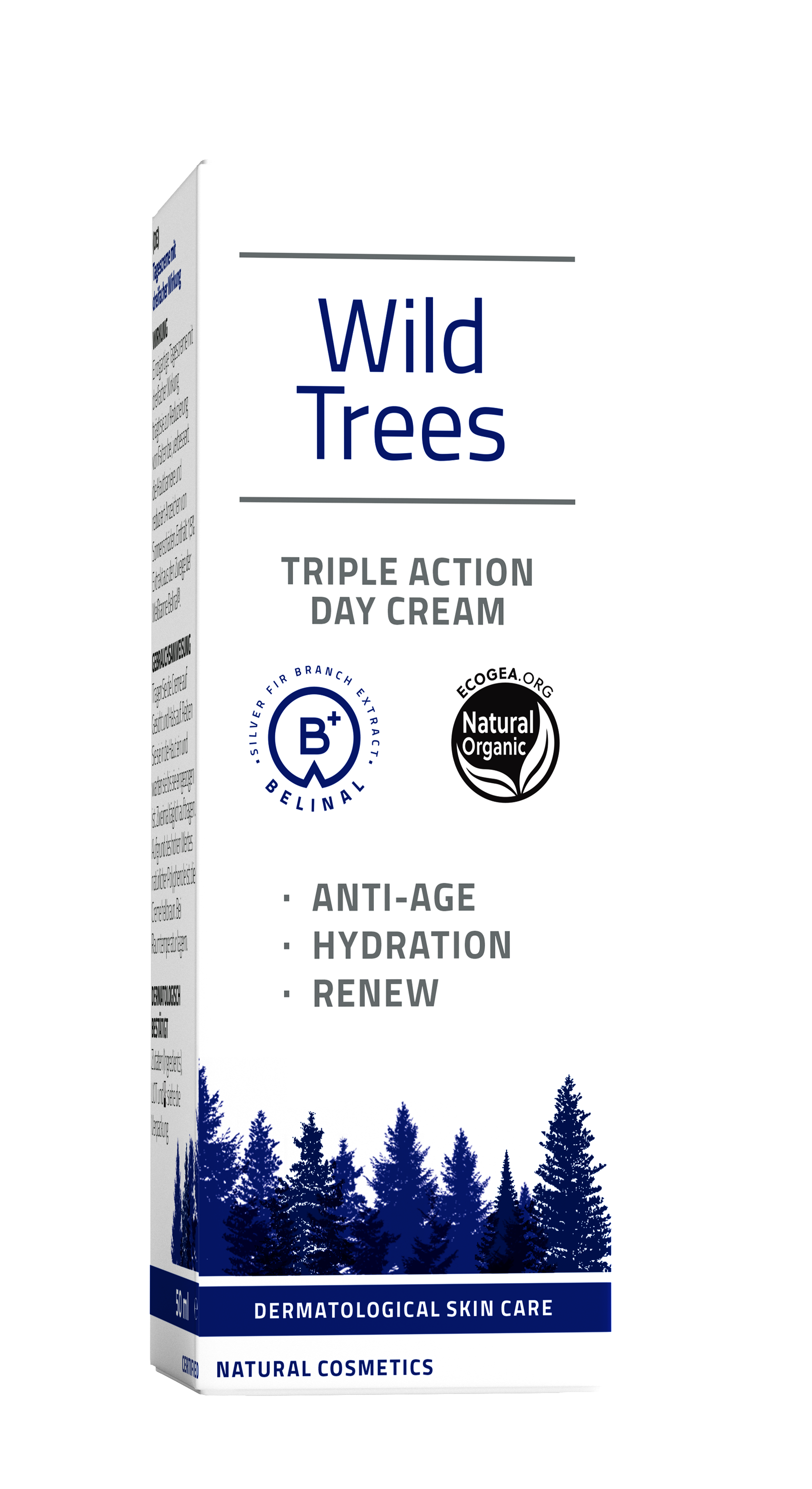 wild trees tadc - silver fir- reduces wrinkles - increases hydration - lightens up brown spots - all skin types