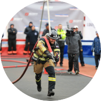 firefighter combat challenge team - slovenia - participant of the study - belinal sport recovery - silver fir - muscle recovery - improved endurance - fatigue reduction