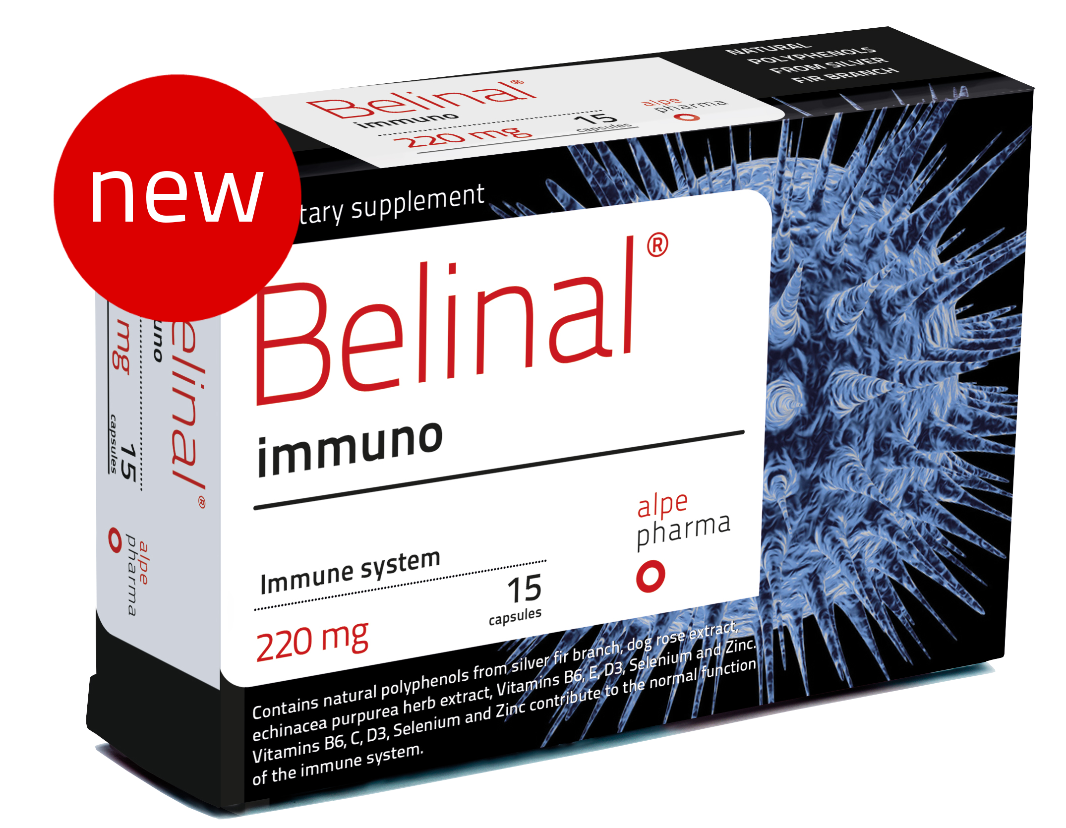 belinal immuno - silver fir - cold recovery - flu recovery - immune system support